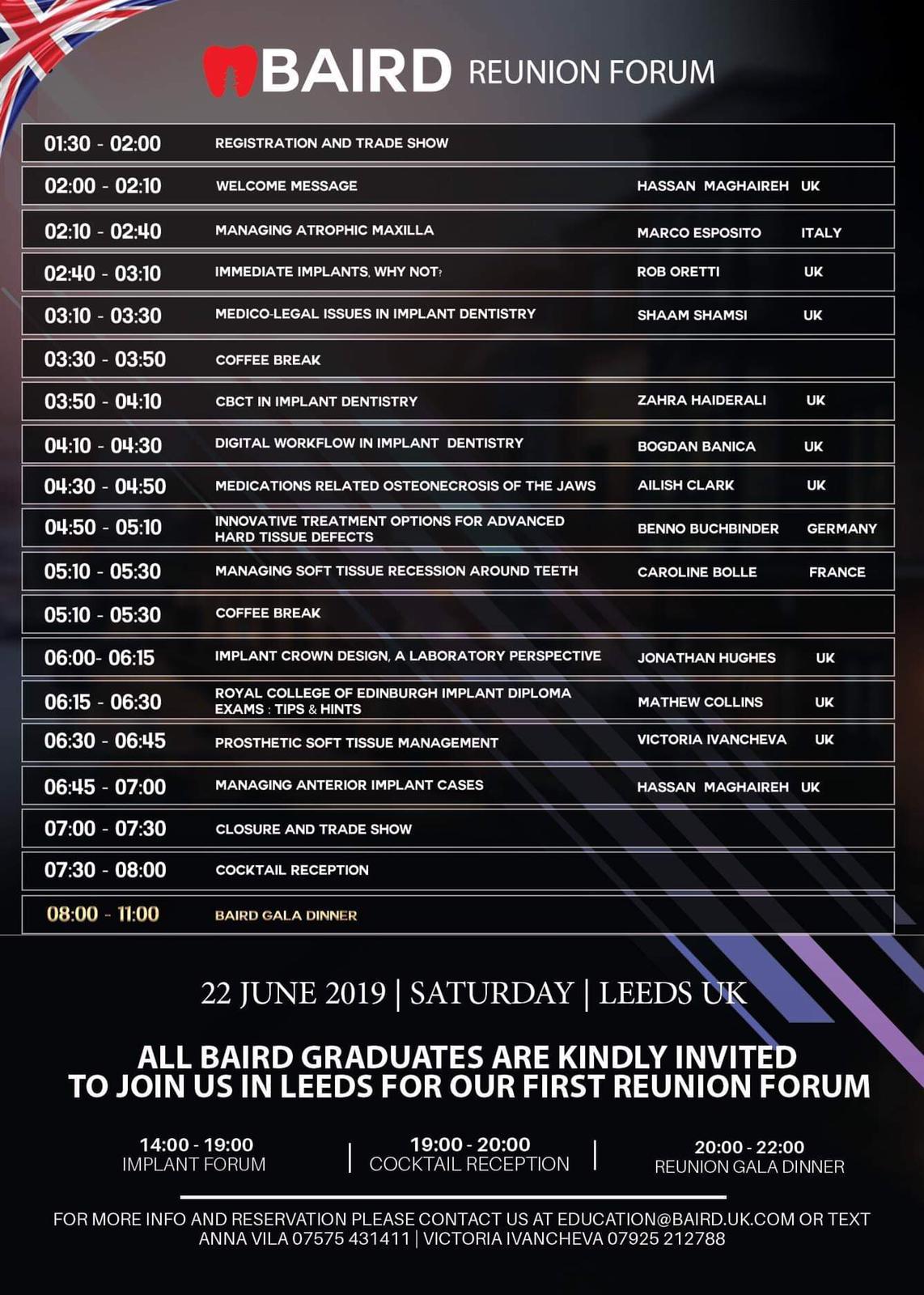 Forum Programme Jun 2019